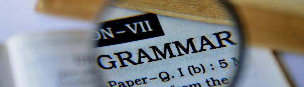 Grammar checkpoint